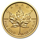 2015 Canada 1/4 oz Gold Maple Leaf BU