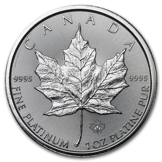 2015 Canada 1 oz Platinum Maple Leaf BU