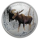 2015 Canada 1 oz Proof Silver $20 The Majestic Moose