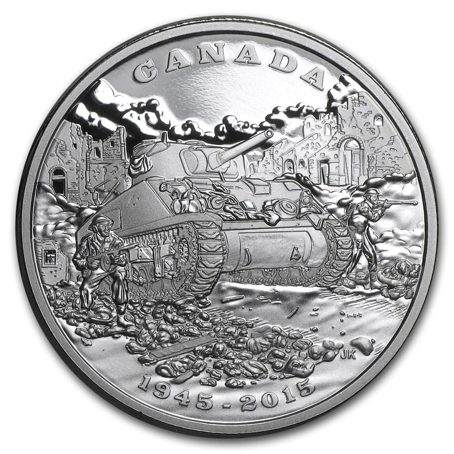 2015 Canada $20 End of the Italian Campaign Proof