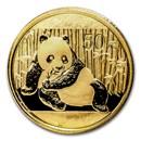 2015 China 1/10 oz Gold Panda BU (Sealed)