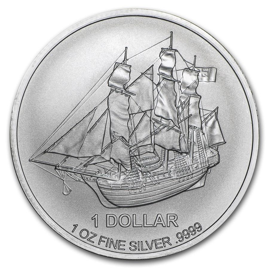 2015 Cook Islands 1 oz Silver Bounty Coin