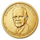 2015-D Dwight Eisenhower Presidential Dollar BU