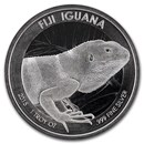 2015 Fiji 1 oz Silver Iguana BU (Coin and Capsule Only)