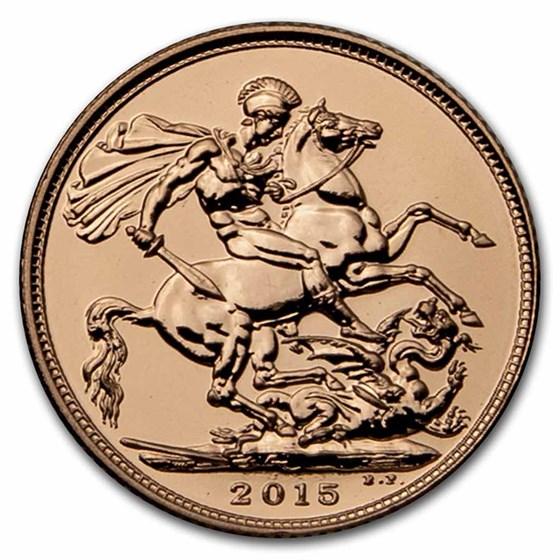 2015 Great Britain Gold Royal Birthday Celebration Sovereign