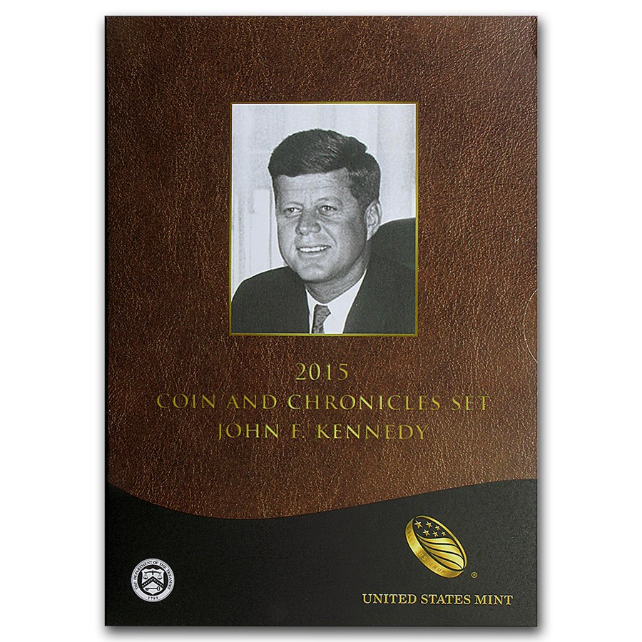 2015 Kennedy Coin & Chronicles Set