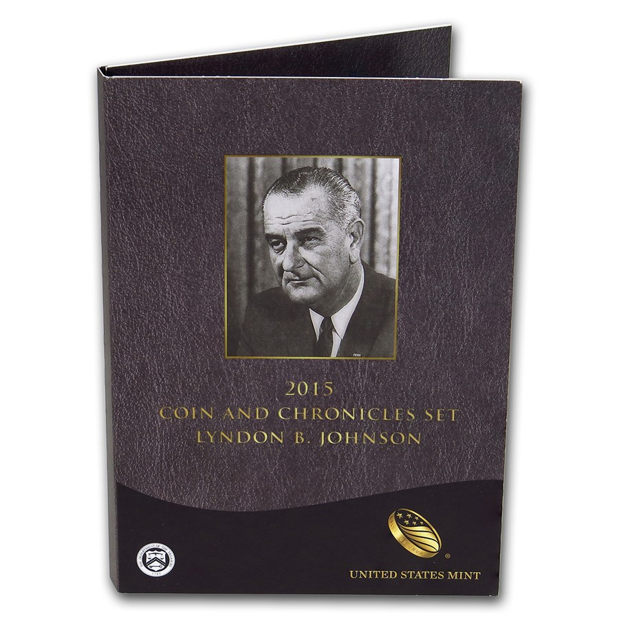 2015 Lyndon B. Johnson Coin & Chronicles Set