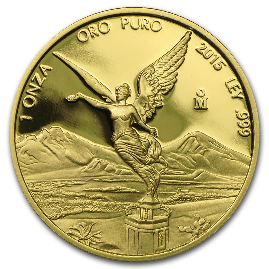 2015 Mexico 1 oz Proof Gold Libertad
