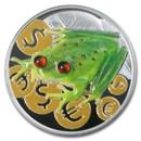 2015 Niue 1 oz Silver Money Frog Proof