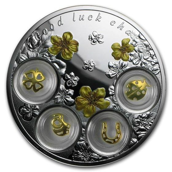 2015 Niue 2.5 oz Silver Good Luck Charms
