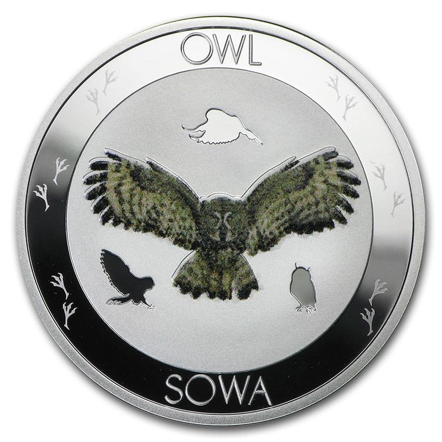 2015 Niue Silver Symbols of Nature Owl Proof