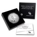 2015-P 5 oz Silver ATB Saratoga (w/Box & COA)