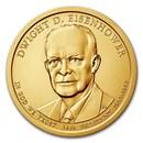 2015-P Dwight Eisenhower Presidential Dollar BU