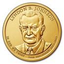 2015-P Lyndon Johnson Presidential Dollar BU
