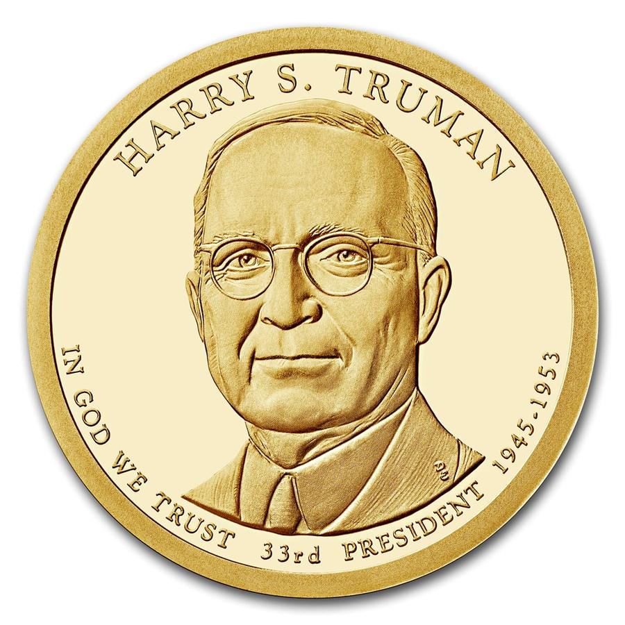 2015-S Harry Truman Presidential Dollar Proof