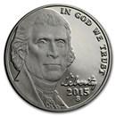 2015-S Jefferson Nickel Gem Proof