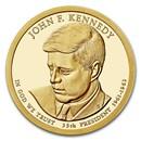 2015-S John F. Kennedy Presidential Dollar Proof