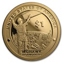2015-S Native Amer $1 - Mohawk Ironworkers Gem Proof