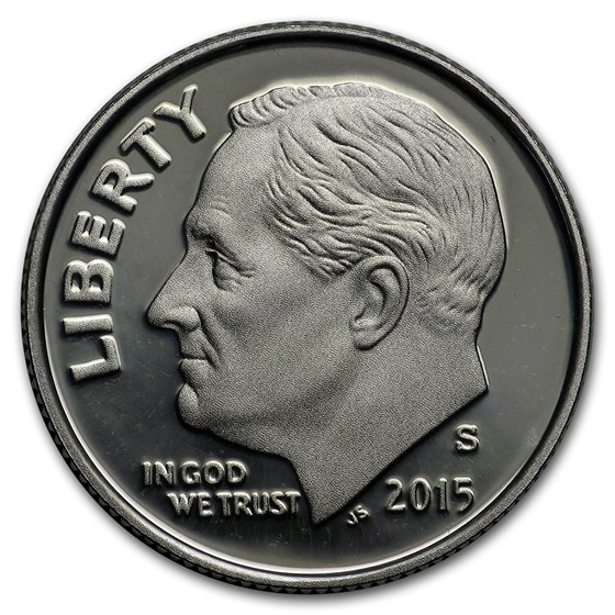 2015-S Silver Roosevelt Dime Gem Proof