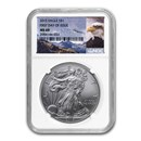 2015 Silver American Eagle MS-69 NGC (First Day Issue)