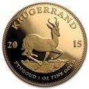 2015 South Africa 1 oz Gold Krugerrand Proof