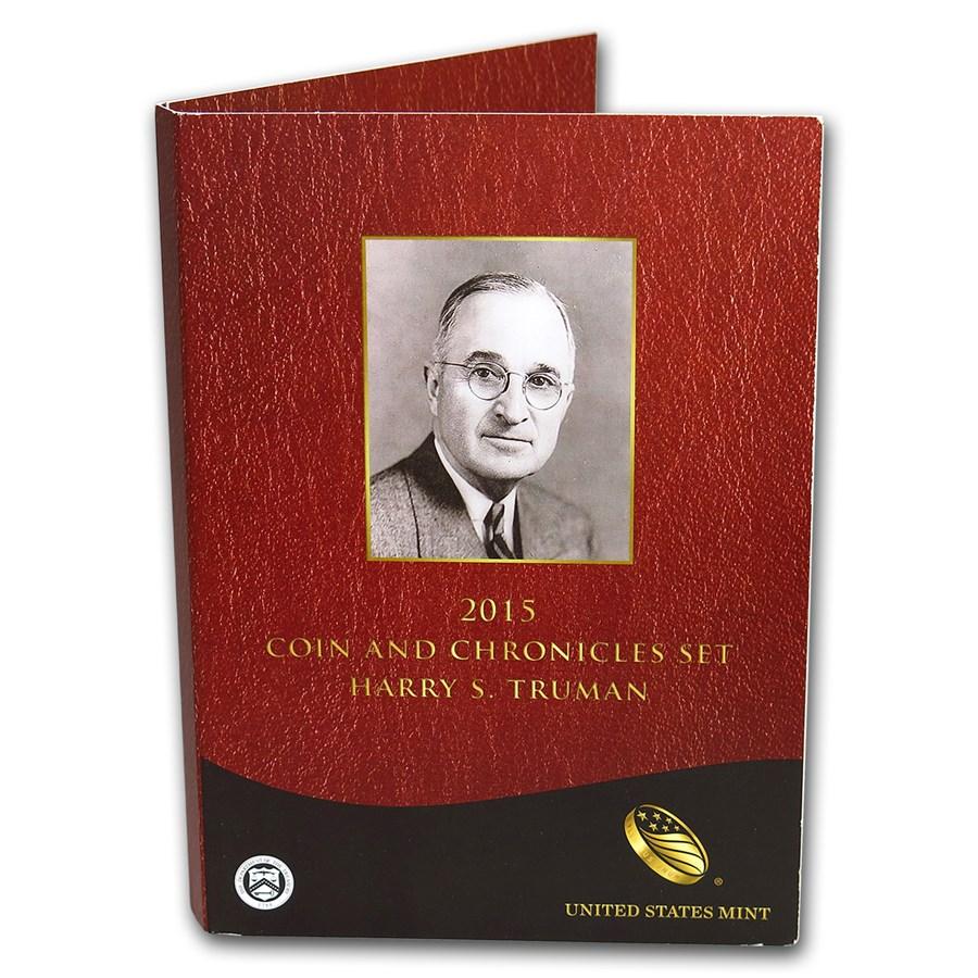 2015 Truman Coin & Chronicles Set