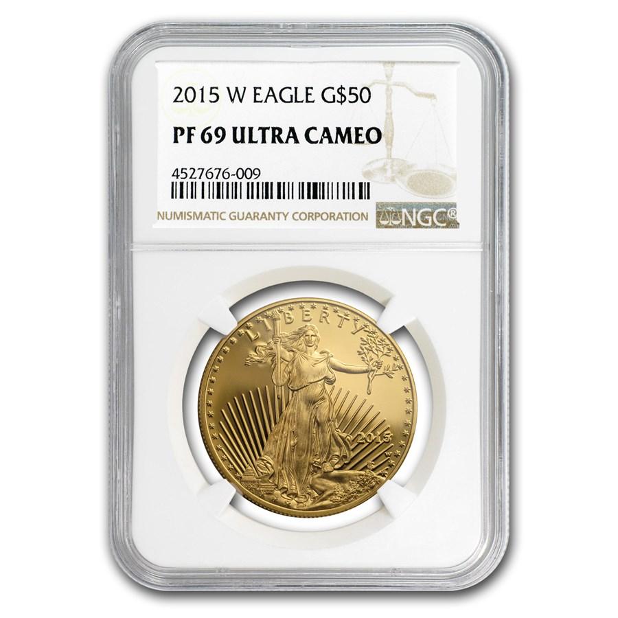 2015-W 1 oz Proof American Gold Eagle PF-69 UCAM NGC