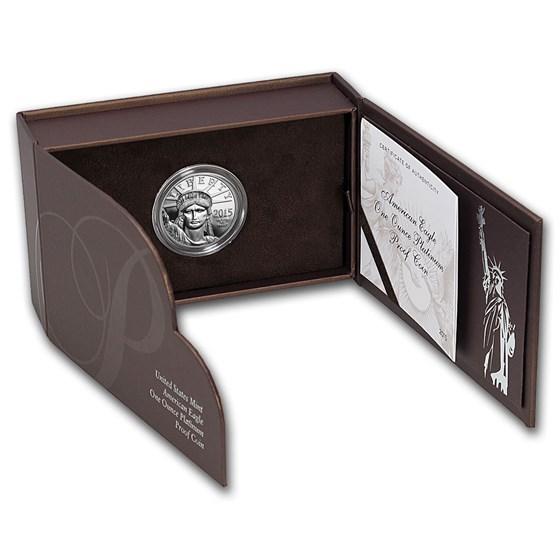 2015-W 1 oz Proof American Platinum Eagle (w/Box & COA)
