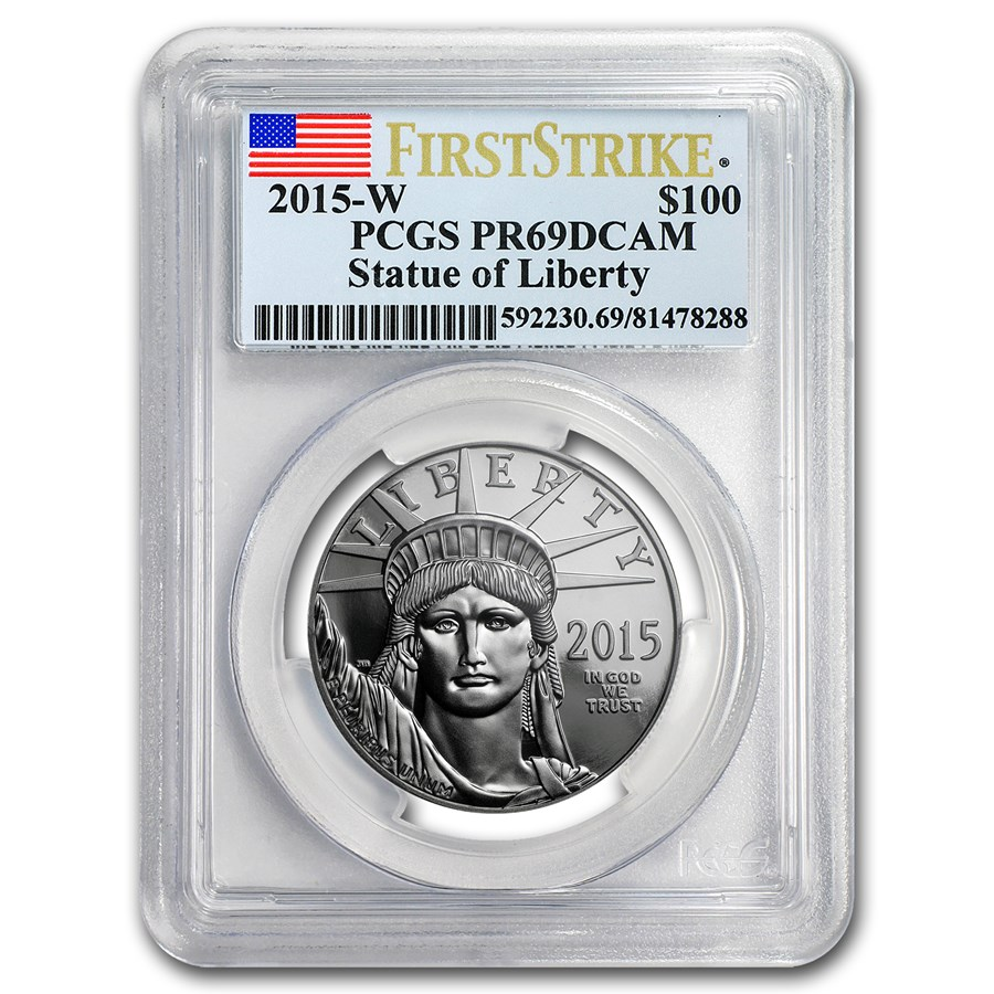 2015-W 1 oz Proof Platinum American Eagle PR-69 PCGS (FS)