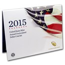 2015-W 6-Coin U.S. Mint Annual Uncirculated Dollar Set