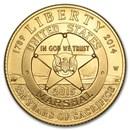 2015-W Gold $5 Commem U.S. Marshals Service BU (w/Box & COA)