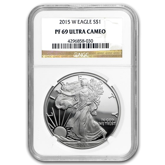 2015-W Proof American Silver Eagle PF-69 NGC