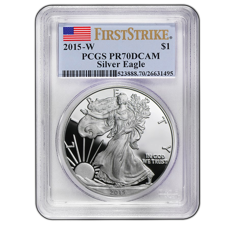2015-W Proof Silver American Eagle PR-70 PCGS (FirstStrike®)