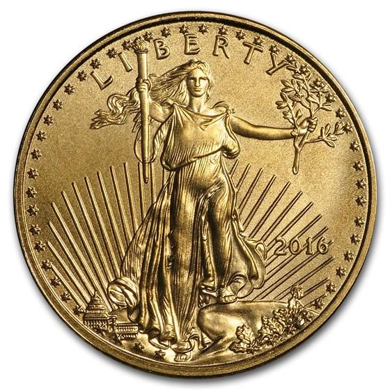 2016 1/10 oz American Gold Eagle BU
