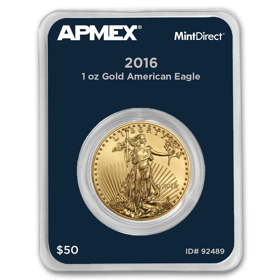 2016 1 oz American Gold Eagle (MintDirect® Single)