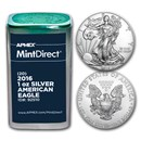 2016 1 oz American Silver Eagles (20-Coin MintDirect® Tube)