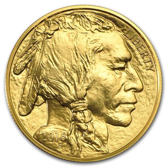 2016 1 oz Gold Buffalo BU