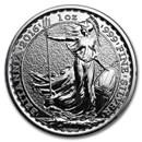2016 1 oz Silver Britannia BU (w/Year of the Monkey Privy Mark)