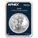 2016 1 oz Silver Eagle (MintDirect® Premier Single)
