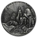 2016 2 oz Silver Coin - Biblical Series (Daniel in Lion's Den)