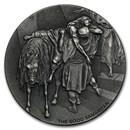 2016 2 oz Silver Coin - Biblical Series (The Good Samaritan)
