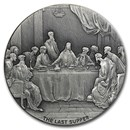 2016 2 oz Silver Coin - Biblical Series (The Last Supper)