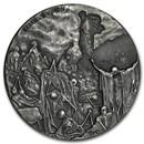 2016 2 oz Silver Coin - Biblical Series (Valley of Dry Bones)