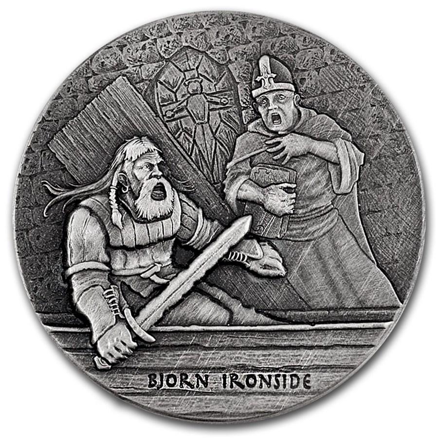 2016 2 oz Silver Coin Viking Series (Björn)