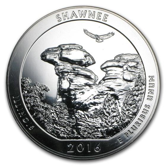 2016 5 oz Silver ATB (Random Park, Scruffy)