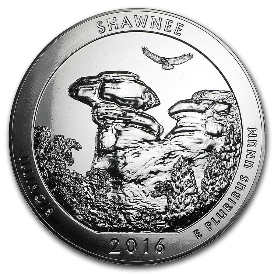 2016 5 oz Silver ATB Shawnee National Forest, IL