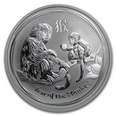 2016 Australia 1/2 oz Silver Year of the Monkey BU (Series II)