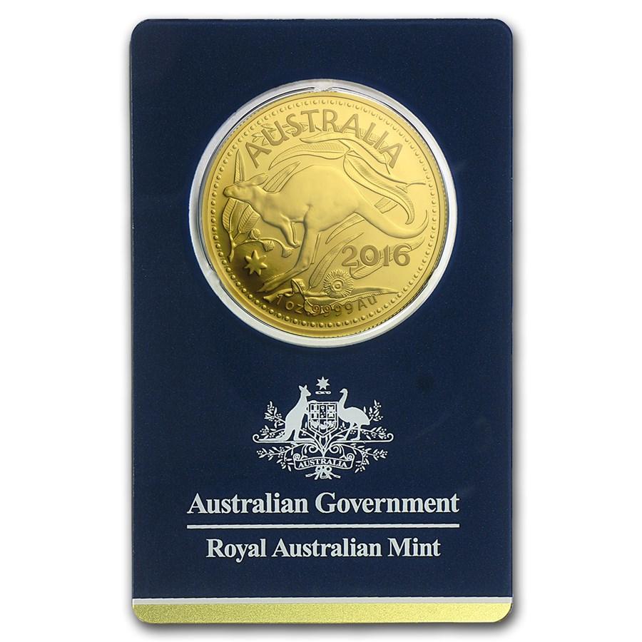 2016 Australia 1 oz Gold RAM Kangaroo (In Assay)