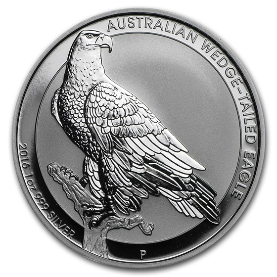 2016 Australia 1 oz Silver Wedge Tailed Eagle BU