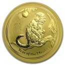 2016 Australia 10 oz Gold Lunar Monkey BU